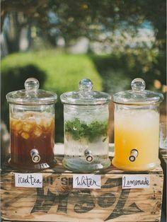 bebeidas refrescantes boda