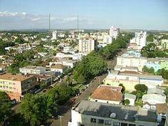 Avenida Afonso Pena. Lagoa Vermelha RS