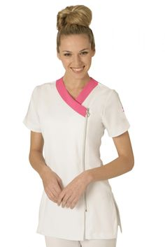 Resultado de imagen para beautician uniforms uk Spa Uniform, Hotel Uniform, Scrubs Uniform, Dental Scrubs, Medical Scrubs, Medical Uniforms, Work Uniforms, Beauty Therapist Uniform, Scrubs Pattern