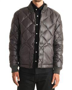 Downproof Jacket in Grey By YMC | #MohawkMan #YMC