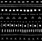 Basic Math Black/White by leanne