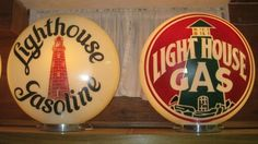 Lighthouse Gas Globes