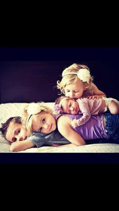 Adorable family picture