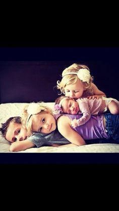 Geschwister. Süß!