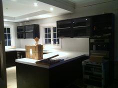 kjøkkenet nesten ferdig..