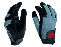 Valeo SplitLeather FullFinger AntiVibe Gloves Black Large -- You can find more details by visiting the image link.(This is an Amazon affiliate link and I receive a commission for the sales)