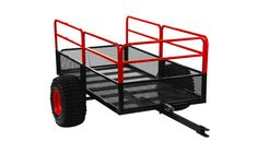 Yutrax Trail Warrior 1250 Pound Capacity Off Road Utility ATV Trailer Survival Prepping, Survival Gear, Atv Utility Trailer, Atv Trailers, Prime Day Deals, Off Road Trailer, Agriculture Farming, Atv Parts, Hunting Gear