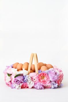 Easter Project // Fresh Flower Easter Basket DIY