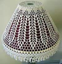 Crochet Home, Knit Crochet, Crochet Lampshade, Painting Lamp Shades, Lamp Cover, Vintage Crafts, Lampshades, Crochet Clothes, Different Styles