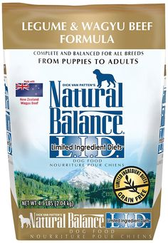 Natural Balance Limited Ingredient Diets Dry Dog Food - Legume and Wagyu Beef Formula * See this great product. (This is an affiliate link and I receive a commission for the sales) #DogCare