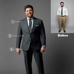 Suits - when you have just one ab