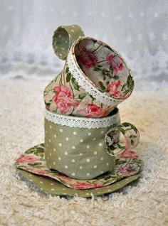 Fabric Tea Party - Cherished Bliss