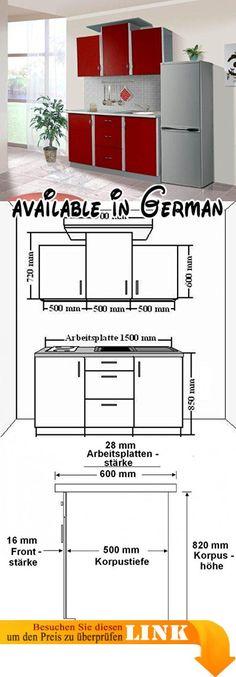 B00PJE0KH0  Küche Köln 172x280 cm Küchenzeile in Sonoma Eiche - komplett küchen mit elektrogeräten günstig