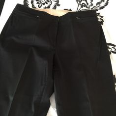 Black pants Black VERY comfortable pants!! 2 small front zippered pockets. Almost new Great fit! Venezia Pants Trousers