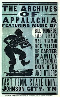 In an article published by the East Tennessean, archivist Ned Irwin explains the history of the Archives of Appalachia and how they found a home in the ETSU library archives. Band Posters, Cool Posters, East Tennessee State University, Name That Tune, Mountain Music, Bluegrass Music, Could Play, Appalachian Mountains, Southern Comfort