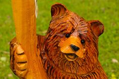 South Dakota Chainsaw Bear Carving