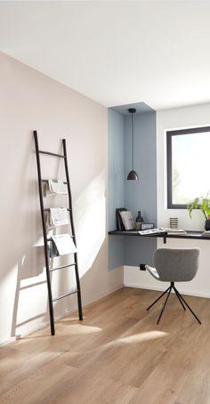 Study Room Decor, Living Room Decor, Bedroom Decor, Home Room Design, Home Interior Design, Bedroom Wall Designs, Home Office Decor, Office Desk, New Room