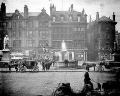 Albert Square. Manchester. 1895.