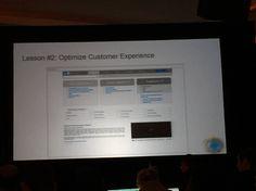 Optimise customer ux
