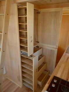 Tiny house building options storage home