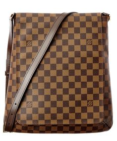 91b31a0ef83 LOUIS VUITTON Louis Vuitton Damier Ebene Canvas Musette .  louisvuitton   bags  shoulder bags  lining  canvas