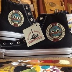 Oingo Boingo Mosiac Rock N Roll Chucks® holy ..you know! I want !