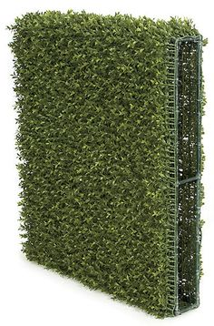 """Back Drop Side of the Artificial Boxwood Hedge Backdrop for special events and venues.    Commercial quality plant like features Tutone Green Limited UV protection Heights range from 12""""-30"""" Lengths range from 24""""-48"""""""