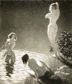 Norman Lindsay - The Pool, 1934 (1 v)