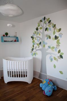 Tree in a baby room