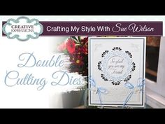 Make your dies really stand out with this shadowing technique. Sue guides you how to make your dies more defined in this tutorial. Items used: Lauren die set...