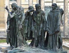 Rodin, Les Bourgeois de Calais En 1347, durant la guerre de Cent ans, à la suite d'un siège particulièrement long, la ville de Calais fut contrainte de se rendre au roi d'Angleterre Edouard III. Six notables, Eustache de Saint-Pierre, Jean d'Aire, Jacques et Pierre de Wissant, Jean...