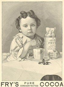 Victorianadverts.com gives an aesthetic look back at advertising and daily life in general.   frys cocoa advert