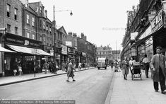 Photo of Peckham, Rye Lane from Francis Frith London History, Local History, Family History, Vintage London, Old London, Old Pictures, Old Photos, Nostalgic Pictures, Forest Hill