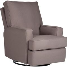 "Kersey Upholstered Swivel Glider Recliner - Shadow - Best Brands - Babies ""R"" Us (Do they have other fabric color options in store?)"
