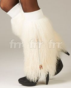 Genuine Mongolian Lamb Fur Fur is long, soft, and curlyStretchable top for securing to legBeaded tassels for added toughVery trendy, will enhance any lookOne Size Fits AllA great gift idea!