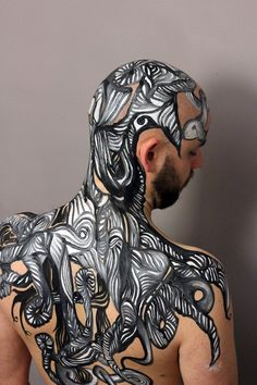 See Lizzie Cullens painted naked ladies (and gents) - News - Digital Arts