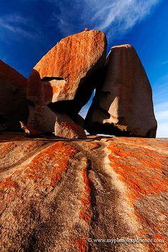 Remarkable Rocks - Flinders Chase National Park, Kangaroo Island, Australia by My Planet Experience South Australia, Australia Travel, Tasmania, Australia Landscape, Kangaroo Island, Beach Trip, Hawaii Beach, Oahu Hawaii, Holiday Places
