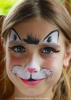 by Kinderschminken Traumzauber #kinderschminken, #facepainting, #kinderschminkenkatze, #facepaintingcat, #cat