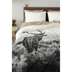 whkmp's OWN katoenen dekbedovertrek lits.jum., Lits-jumeaux (240 cm breed)  #wehkamp #whkmpsown #slaapkamer #groot #nature #dekbedovertrek