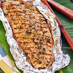 Pescados Asado Three Guys – Grilled Fish - A Peruvian-inspired recipe that uses a marinade (recipe included) to infuse the fish with delicious spices.