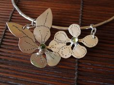kate wood silver jewellery, handmade on gabriola island