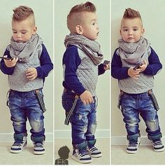 Cutest kid OMG style!!