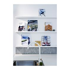RIBBA Picture ledge IKEA The picture ledge makes it easy to vary your favorite motifs as often as you like.