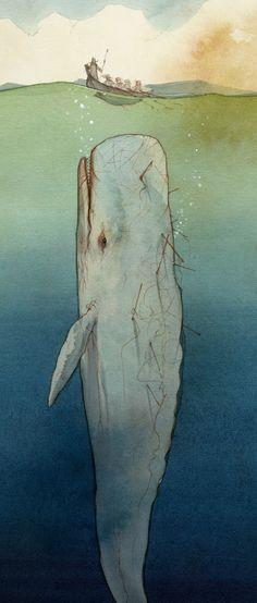 Moby Dick by Gianluca Garofalo / Italy http://gianlucagarofalo.blogspot.com/
