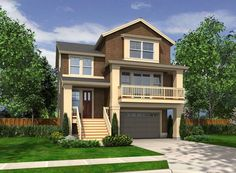 Auburn 4389 - 4 Bedrooms and 3 Baths | The House Designers