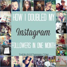How I Doubled My Instagram Followers in One Month | Bloggers know the importance of building a platform. If you need to grow your Instagram following try these 5 steps today to start growing your following!