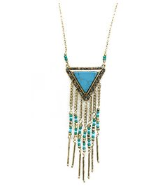 Sam Moon | Tribal Inspired Fashion Long Necklace $7.99