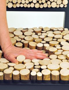 This woman used foam under the wood to make her Squishy Chair by New Colony Furniture