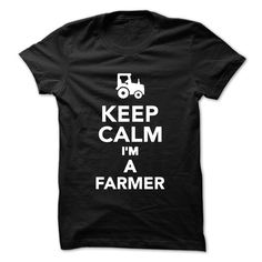 Keep Calm I am a Farmer T-Shirts, Hoodies. VIEW DETAIL ==► https://www.sunfrog.com/Geek-Tech/Keep-Calm-I-am-a-Farmer.html?id=41382