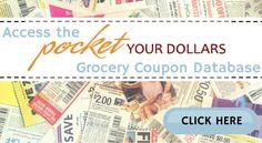 Pocket Your Dollars Coupon Database (3)